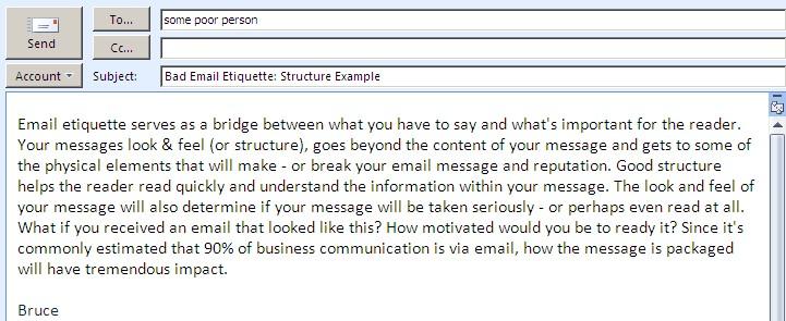 Letter writing services etiquette kind regards