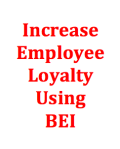 Increase Employee Loyalty