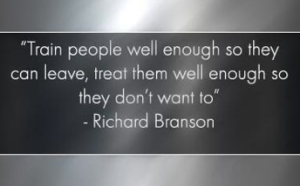 Treat People Well Enough So They Can Leave