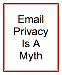 Email Privacy Is A Myth