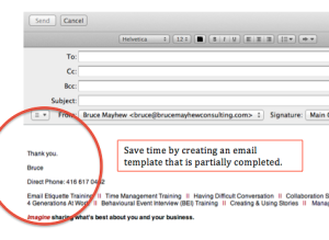 Bruce Mayhew Consulting Email Etiquette