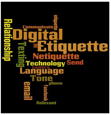 Lesson Plan: Digital Etiquette  Digital Etiquite