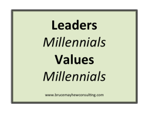 Leaders Values Millennials