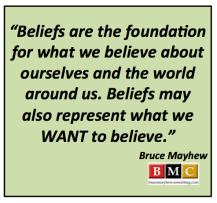 Beliefs and Change Management