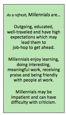 Millennials At Work Enjoy Learning