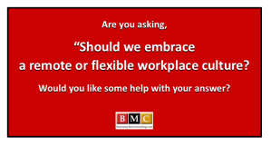 remote or flexible workplace culture